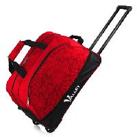 Expandable Red Trolley Bag