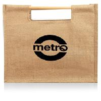 Stick Jute Shopping Bag