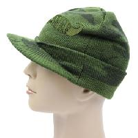 Knit Camouflage Cap