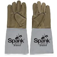 Leather Padded Safety Gloves