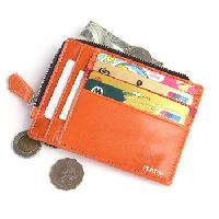 Simple Leather Credit Card Holder