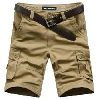 Mens Casual Cargo Shorts