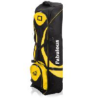 Padded Golf Bag With Wheel