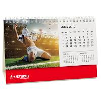 Panorama Easel Table Calendar