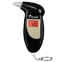 Portable LCD Breath Alcohol Tester Keychain