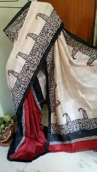 Hand Block Printed Saree 05