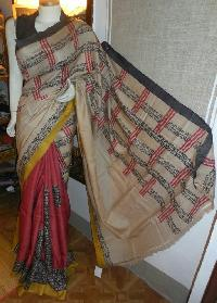Hand Block Printed Saree 06