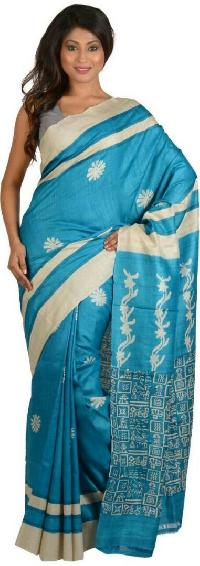 Hand Block Printed Saree 09