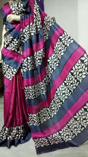 Hand Block Printed Saree 13