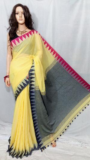 Khadi Saree With Blouse 02