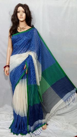 Khadi Saree With Blouse 03
