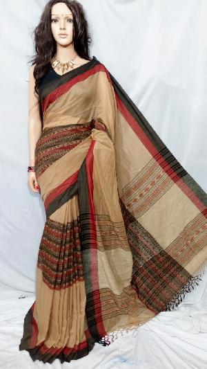 Khadi Saree With Blouse 04