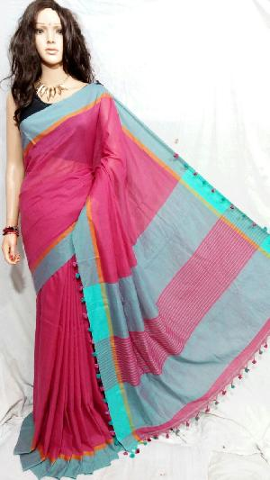 Khadi Saree With Blouse 05