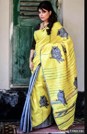 Khadi Saree With Blouse