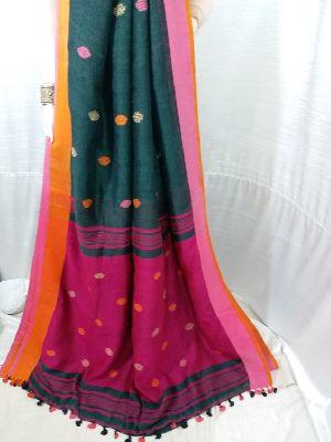 Linen Saree 06
