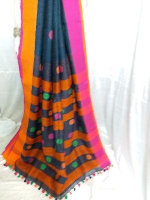 Linen Saree 08