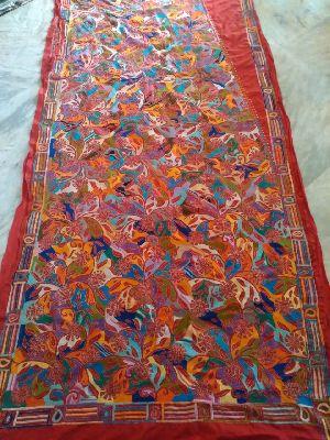 Shantiniketan Kantha Stitch Sarees