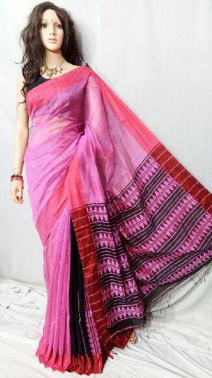 Silk Cotton Saree With Blouse 01