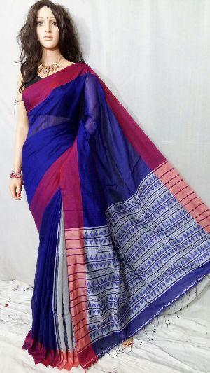Silk Cotton Saree With Blouse 02