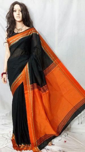 Silk Cotton Saree With Blouse 06