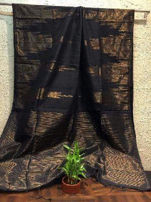 Silk Cotton Saree With Blouse 15