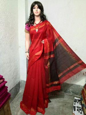 Silk Cotton Saree With Blouse 32