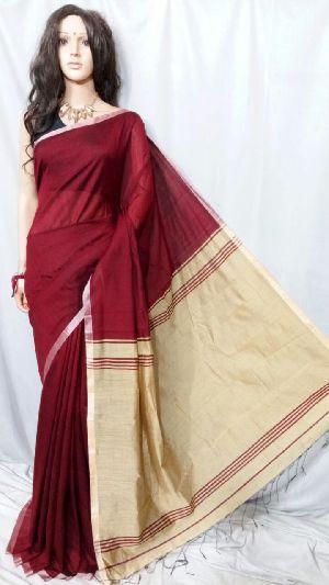 Silk Cotton Saree With Blouse 33