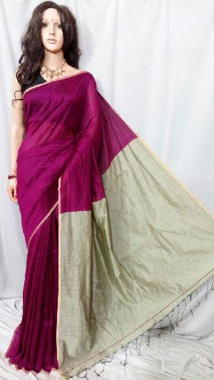 Silk Cotton Saree With Blouse 36