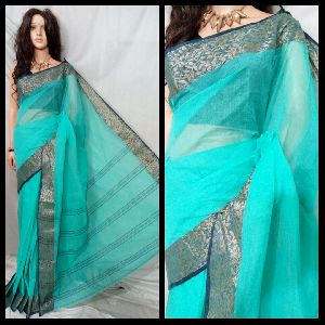 Tant Cotton Saree Without Blouse 08