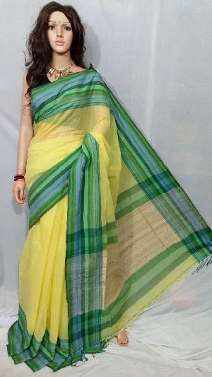 Tant Cotton Saree Without Blouse 10