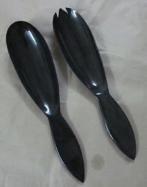 Horn Serving Spoon 02