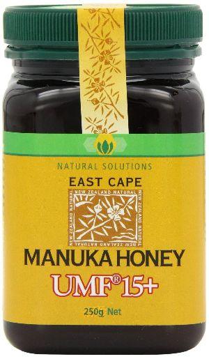 100% Natural Pure New Zealand Sertified East Cape Manuka Honey UMF 15+ (250g)