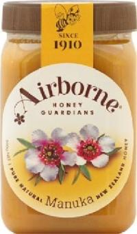 Airborne Pure Natural New Zealand Manuka Honey (500g)