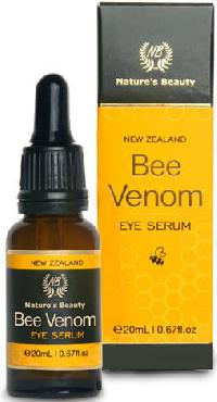 Natures Beauty Bee Venom Eye Serum with Active Manuka Honey (UMF 20+) & Organic Oil (20ml)
