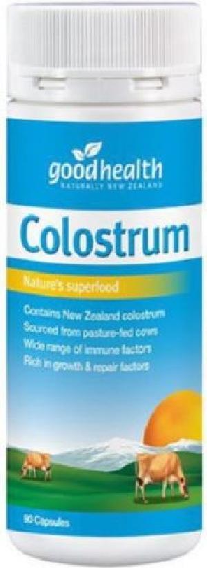 Good Health New Zealand Colostrum Capsules (90)