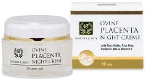 New Zealand Ovine Placenta & Aloe Vera, Shea Butter, Vitamin E Night Cream (50g)
