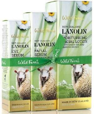 New Zealand Wild Ferns Lanolin Serum Set