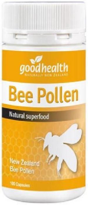 Pure New Zealand Good Health Bee Pollen (100 Capsules)