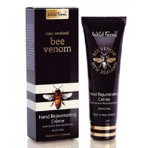 Wild Ferns Bee Venom Hand Rejuvenating Cream With Active Manuka Honey