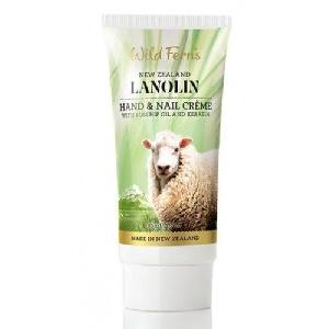 Wild Ferns Lanolin Hand And Nail Creme With Rosehip Oil And Keratin (85ml)