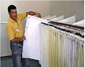 Drawing Hanger Wall Rack