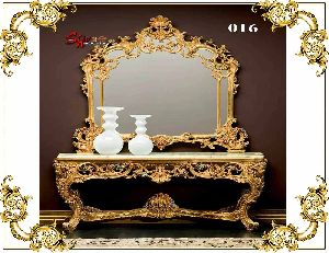 016 Wooden Dressing Table