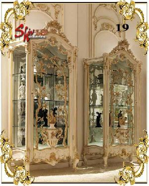 019 Wooden Designer Dresser