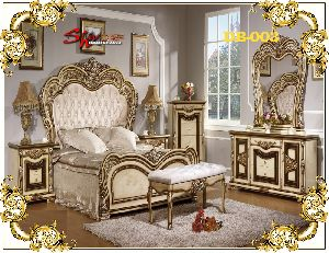 DB-003 Wooden Double Bed