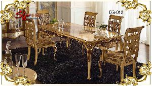 DG-013 Wooden Dining Table Set