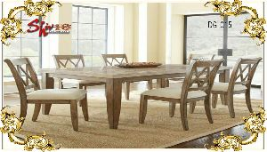 DG-015 Wooden Dining Table Set