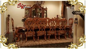 DG-020 Wooden Dining Table Set