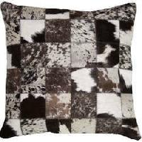 Patchwork Leather Cushion Covers 01