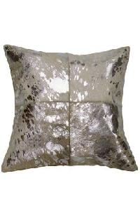 Patchwork Leather Cushion Covers 05