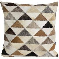 Patchwork Leather Cushion Covers 07